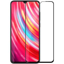 Nillkin XD CP + MAX Ultra vékony teljes képernyős edzett üveg tempered glass tempered glass tempered glass keret 0,33 mm 9H számára Xiaomi redmi Note 8 Pro fekete