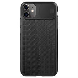 Nillkin CamShield tok Slim tok kamerával védelmi pajzs iPhone 11 fekete telefontok