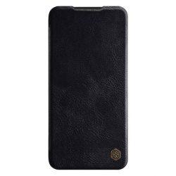 Nillkin Qin eredeti bőr tok Xiaomi redmi Note 8 Pro fekete telefontok hátlap tok