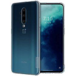 Nillkin Nature TPU tok Gel Ultra Slim tok OnePlus 7T Pro fehér telefontok hátlap tok