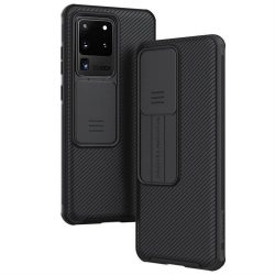 Nillkin CamShield Pro tok tartós kamera védelmi pajzs Samsung Galaxy S20 fekete telefontok