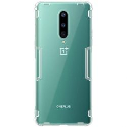 Nillkin Nature TPU tok Gel Ultra Slim tok OnePlus 8 átlátszó telefontok