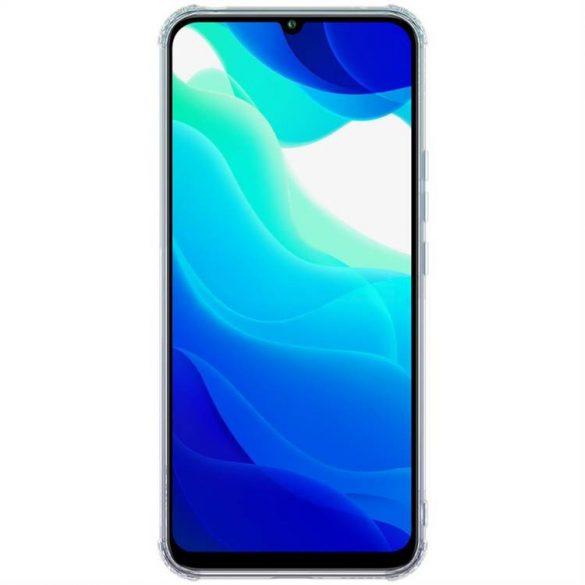 Nillkin Nature TPU tok Gel Ultra Slim tok Xiaomi Mi 10 Lite átlátszó telefontok