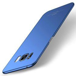 MSVII Egyszerű Ultra-Thin PC Cover telefon tok telefontok (hátlap) Samsung Galaxy S8 Plus G955 kék