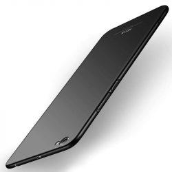 MSVII Egyszerű Ultra-Thin PC Cover telefon tok telefontok (hátlap) Xiaomi redmi NOTE 5A fekete