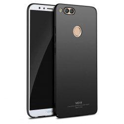 MSVII Egyszerű Ultra-Thin PC Cover tok telefon tok hátlap Huawei Honor 7X fekete
