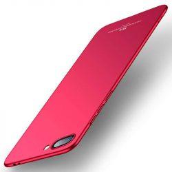 MSVII Egyszerű Ultra-Thin PC Cover telefon tok telefontok Huawei Honor 10 piros