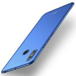 MSVII Egyszerű Ultra-Thin PC Cover telefon tok telefontok (hátlap) Xiaomi Mi Max 3 kék