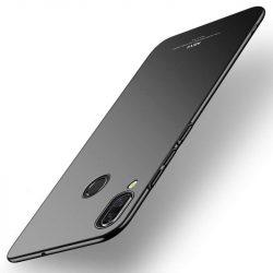 MSVII Egyszerű Ultra-Thin PC Cover tok telefon tok hátlap Huawei P smart Plus fekete