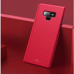 MSVII Egyszerű Ultra-Thin PC Cover tok telefon tok hátlap Samsung Galaxy Note 9 N960 piros