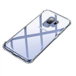 MSVII Airbag Légzsák tok telefon tok hátlap erős sarkok Samsung Galaxy S9 G960 átlátszó