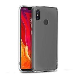 iPaky Effort TPU telefon tok + 9H edzett üveg számára Xiaomi Mi 8 Explorer átlátszó kijelzőfólia üvegfólia tempered glass