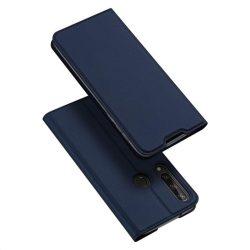DUX DUCIS Skin Pro Bookcase kihajtható tok típusú tok Huawei Y6p kék telefontok