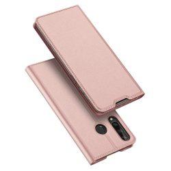 DUX DUCIS Skin Pro Bookcase kihajtható tok típusú tok Huawei Y6p pink telefontok