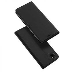 DUX DUCIS Skin Pro Bookcase kihajtható tok típusú tok Huawei Y5p fekete telefontok
