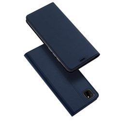 DUX DUCIS Skin Pro Bookcase kihajtható tok típusú tok Huawei Y5p kék telefontok