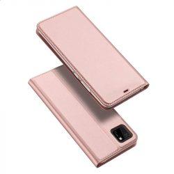 DUX DUCIS Skin Pro Bookcase kihajtható tok típusú tok Huawei Y5p pink telefontok