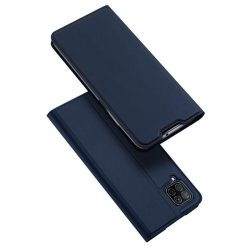 DUX DUCIS Skin Pro Bookcase kihajtható tok típusú tok Huawei P40 Lite / Nova 7i / Nova 6 SE kék telefontok