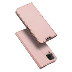 DUX DUCIS Skin Pro Bookcase kihajtható tok típusú tok Huawei P40 Lite / Nova 7i / Nova 6 SE rózsaszín telefontok