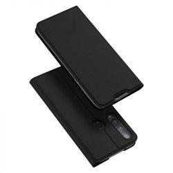 DUX DUCIS Skin Pro Bookcase kihajtható tok típusú tok Huawei P40 Lite E fekete telefontok