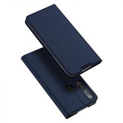 DUX DUCIS Skin Pro Bookcase kihajtható tok típusú tok Huawei P40 Lite E kék telefontok