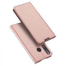 DUX DUCIS Skin Pro Bookcase kihajtható tok típusú tok Huawei P40 Lite E pink telefontok