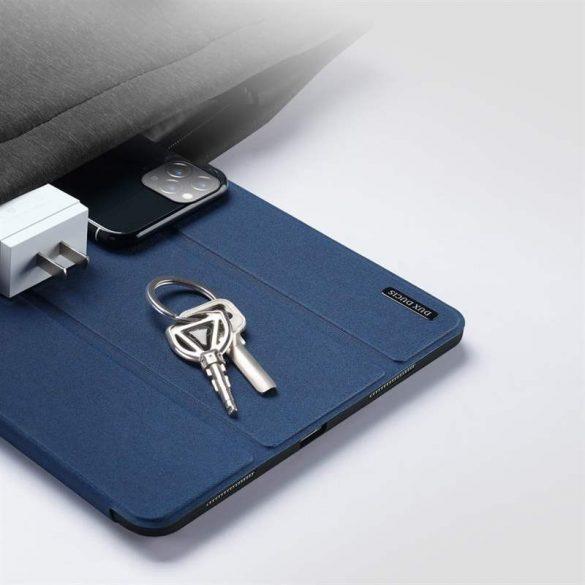 Dux Ducis Domo Lite Tablet tok Többféle szögben állítható állvány és a Smart Sleep funkció iPad Pro 12.9 '' 2020 / iPad Pro 12.9 '' 2018 kék tablettok