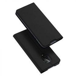 DUX DUCIS Skin Pro Bookcase kihajtható tok típusú tok Xiaomi redmi Note 9 Pro / redmi Note 9s fekete telefontok