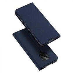 DUX DUCIS Skin Pro Bookcase kihajtható tok típusú tok Xiaomi redmi Note 9 Pro / redmi Note 9s kék telefontok