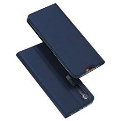 DUX DUCIS Skin Pro Bookcase kihajtható tok típusú tok Xiaomi Mi 10 Pro / Xiaomi Mi 10 kék telefontok