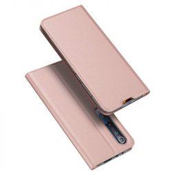 DUX DUCIS Skin Pro Bookcase kihajtható tok típusú tok Xiaomi Mi 10 Pro / Xiaomi Mi 10 rózsaszín telefontok