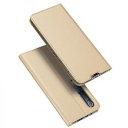 DUX DUCIS Skin Pro Bookcase típusú Xiaomi Mi 10 Pro / Xiaomi Mi 10 arany telefontok