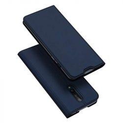 DUX DUCIS Skin Pro Bookcase kihajtható tok típusú tok OnePlus 8 kék telefontok