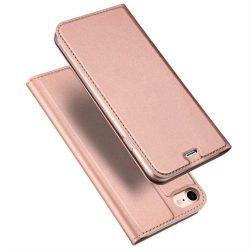 DUX DUCIS Skin Pro flipes típusú tok iPhone SE 2020 / iPhone 8 / iPhone 7 pink