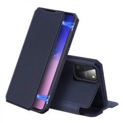 DUX DUCIS Skin X Bookcase kihajtható tok típusú tok Samsung Galaxy S10 Lite blue telefontok