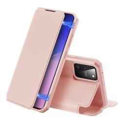 DUX DUCIS Skin X Bookcase kihajtható tok típusú tok Samsung Galaxy S10 Lite rózsaszín telefontok
