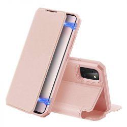 DUX DUCIS Skin X Bookcase kihajtható tok típusú tok Samsung Galaxy Note 10 Lite rózsaszín telefontok