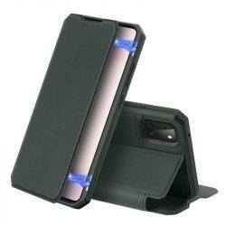 DUX DUCIS Skin X Bookcase kihajtható tok típusú tok Samsung Galaxy Note 10 Lite zöld telefontok