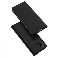 DUX DUCIS Skin Pro Bookcase kihajtható tok típusú tok Huawei P40 Lite / Nova 7i / Nova 6 SE fekete telefontok