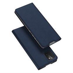 DUX DUCIS Skin Pro Bookcase típusú tok Samsung Galaxy Note 10 Lite blue telefontok hátlap tok