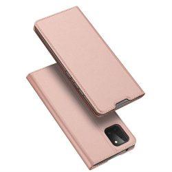 DUX DUCIS Skin Pro Bookcase típusú tok Samsung Galaxy Note 10 Lite rózsaszín telefontok hátlap tok