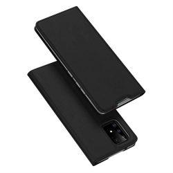DUX DUCIS Skin Pro Bookcase típusú tok Samsung Galaxy S10 Lite fekete telefontok tok