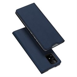 DUX DUCIS Skin Pro Bookcase típusú tok Samsung Galaxy S10 Lite blue telefontok tok
