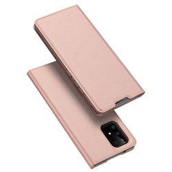 DUX DUCIS Skin Pro Bookcase típusú tok Samsung Galaxy S10 Lite rózsaszín telefontok tok