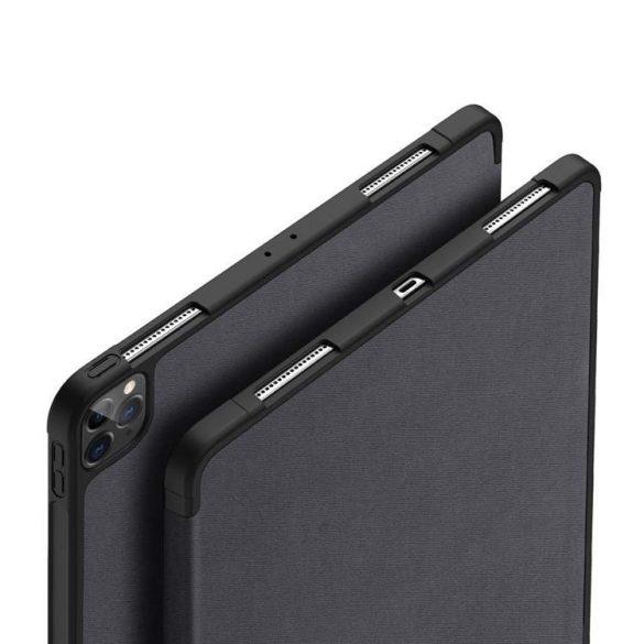 DUX DUCIS Domo Tablet Tok Többféle szögben állítható állvány és a Smart Sleep funkció iPad Pro 12.9 '' 2020 fekete tablettok