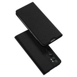 DUX DUCIS Skin Pro Bookcase típusú tok Xiaomi Mi Note 10 / Mi Note 10 Pro / Mi CC9 Pro fekete telefontok hátlap tok