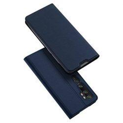 DUX DUCIS Skin Pro Bookcase típusú tok Xiaomi Mi Note 10 / Mi Note 10 Pro / Mi CC9 Pro kék telefontok tok