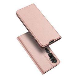 DUX DUCIS Skin Pro Bookcase típusú tok Xiaomi Mi Note 10 / Mi Note 10 Pro / Mi CC9 Pro rózsaszín telefontok hátlap tok