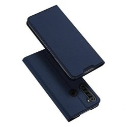 DUX DUCIS Skin Pro Bookcase típusú tok Xiaomi redmi Note 8T kék telefontok tok