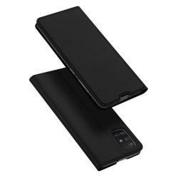 DUX DUCIS Skin Pro Bookcase típusú tok Samsung Galaxy A71 fekete telefontok hátlap tok